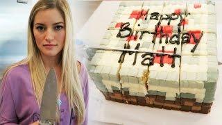 How to make Sangria, Eggs and a Minecraft Cake! | iJustine