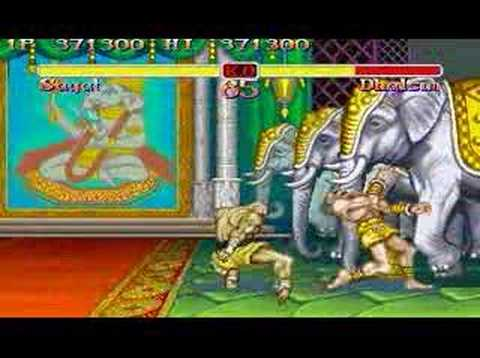 Super Street Fighter II Sagat All Perfect 1/2