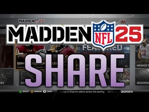 """Madden NFL 25 - """"Madden Share"""" News/Breakdown"""