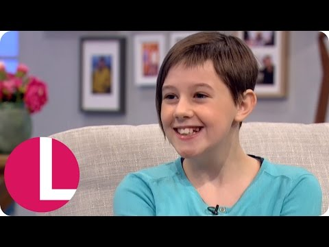BFG Star Ruby Barnhill Plans To Become A Director Like Steven Spielberg | Lorraine