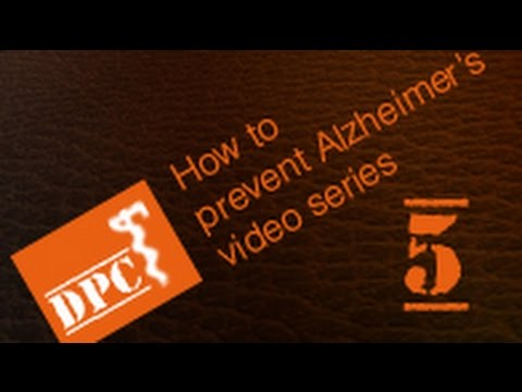 Physician explains method to prevent Alzheimer's and Dementia - Part 5/6.  The brain does not age.