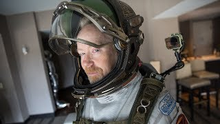 Adam Savage Incognito in the Alien: Covenant Spacesuit!