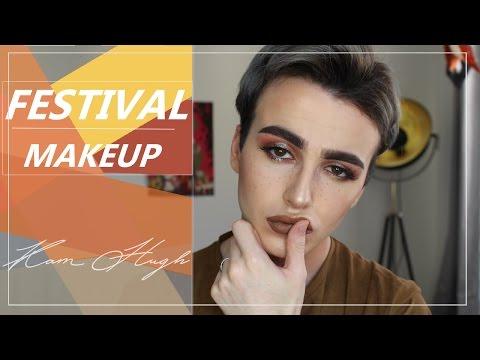 FESTIVAL MAKEUP TUTORIAL | COACHELLA | Kam Hugh