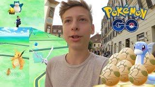 Dragoran, Arkani, Relaxo und Aerodactyl + 6x 10km Ei öffnen • Pokemon Go deutsch