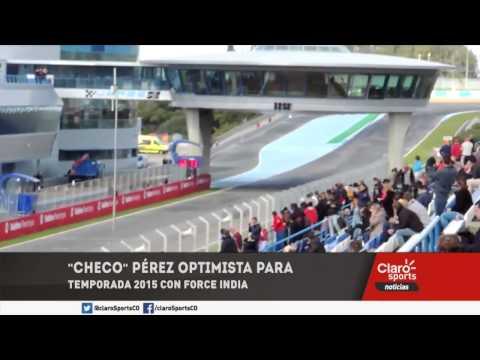 VIDEO: 'Checo' Pérez optimista para temporada 2015 con Force India