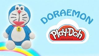 PlayDoh Doraemon | How To Make a Play Doh Doraemon from Playdough