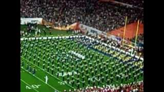 Notre Dame Marching Band - Pre-Game Show - 2013 BCS Championship