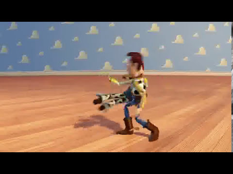 Toy Story 3 Short: Woody and Jessie Dancing