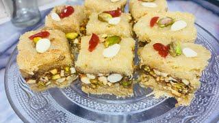 ৫ মিনিটে , 😋লাচচা সেমাই এবং বাদামের বরফি //semai & nuts borfi 2018