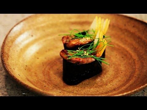 How to Make Gunkan Foie Gras | Bento Box