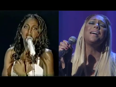 Toni Braxton vs. Tamar Braxton (VOCAL BATTLE: A4 - F5)   Live Vocals