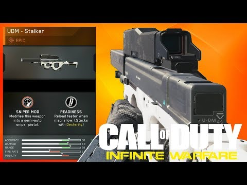 UDM STALKER Epic Variant Review (Call of Duty: Infinite Warfare)