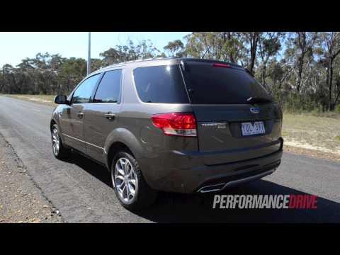 2012 Ford Territory Titanium TDCi RWD 0-100km/h acceleration