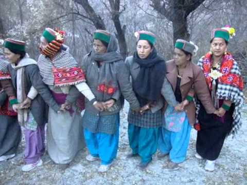 Losar (boss shukud Of Kanav) At Giaboung, Kinnaur, Himachal Pradesh, India video