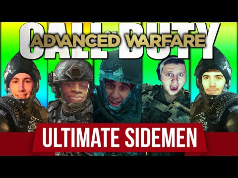 CoD Advanced Warfare #5 with The Sidemen (Funny CoD AW Multiplayer Gameplay)