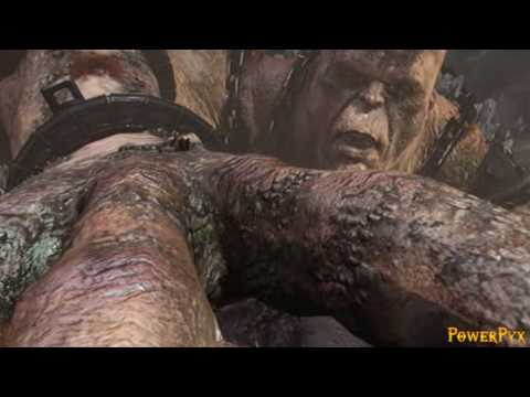 God of War III - Bossfight Cronos (Titan Difficulty)