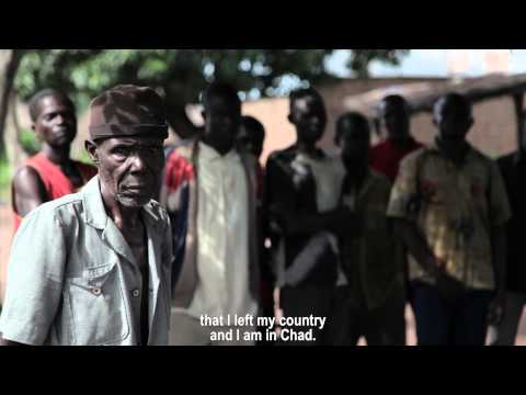 Life as a Central African Republic refugee in Chad - Part 1: Jeanne Berat