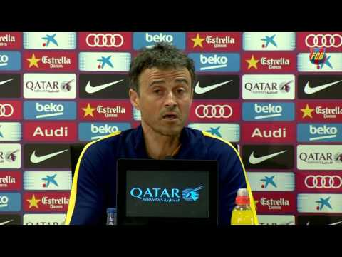 "Luis Enrique: ""We Can Not Take Rayo For Garanted"""