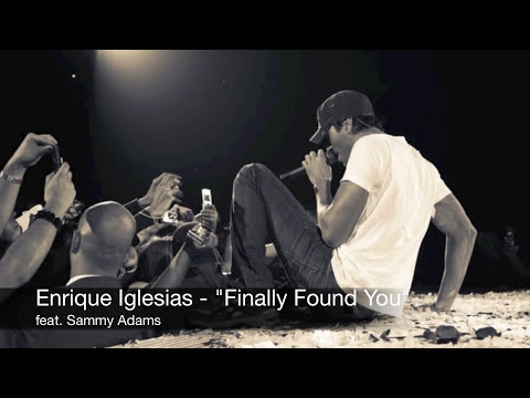Enrique Iglesias - Finally Found You feat. Sammy Adams (Audio)