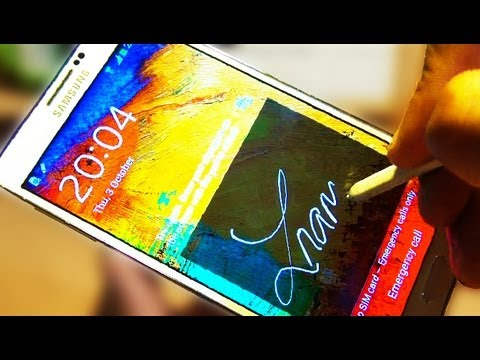 Video: Signature UNLOCK Samsung Galaxy Note 3