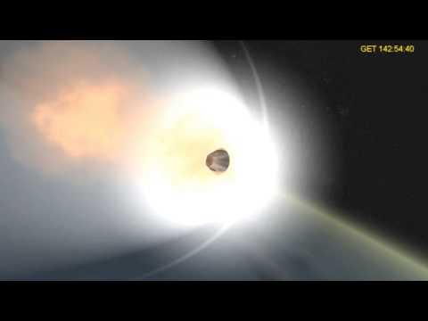 Apollo 13 Re-Entry in Orbiter
