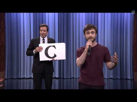 Daniel Radcliffe Raps Blackalicious Alphabet Aerobics (Jimmy...