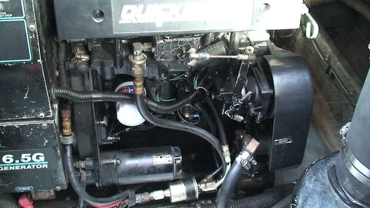 Quicksilver 6 5kw Hunting Idle
