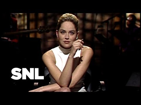 Sharon Stone Monologue - Saturday Night Live