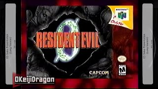 Resident Evil Zero N64 E3 2000 Trailer (60FPS) | Capcom E3 Sales Presentation [VHS / 2000]