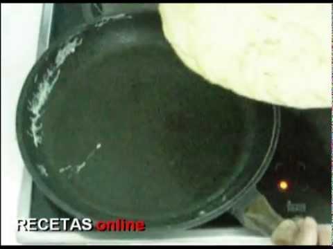 Tortilla de patata - Receta de cocina RECETASonline.net