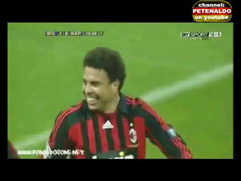 Ronaldo ► AC Milan vs. Napoli ◄ 13.01.2008 ► (two goals) 5:2