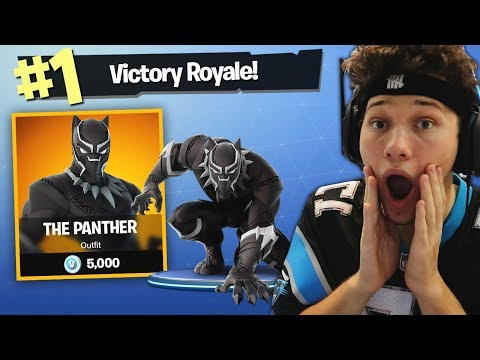 THE BLACK PANTHER CHALLENGE in Fortnite Battle Royale