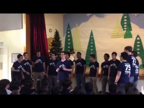 Stratford Middle School Welcomes Yale's Society of Orpheus and Bacchus - 01/31/2014