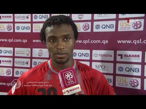لخويا 3-0 الخور ( لقاء مع إسماعيل محمد )