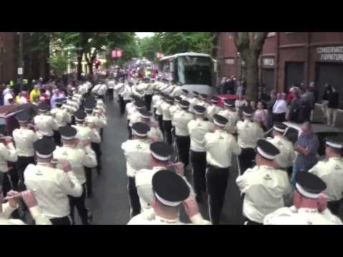 EBPBFB Belfast 12th July 2014 - Morning parade