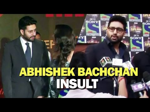 Moments When Abhishek Bachchan Was INSULTED in PUBLIC - Watch Video