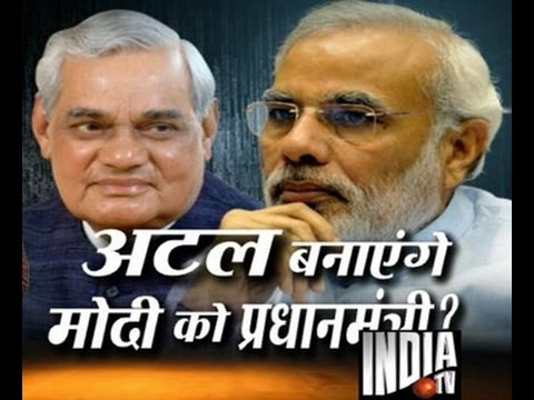 Modi on the footsteps of Atal Bihari Vajpayee