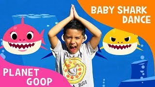 PINKFONG BABY SHARK CHALLENGE sing and dance #babysharkchallenge | Planet Goop Youtube Kids