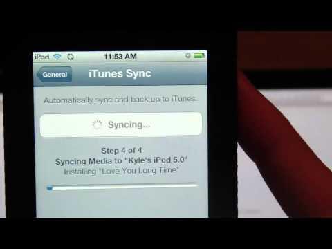 iOS 5 Beta 2 Wireless iTunes Sync Tutorial