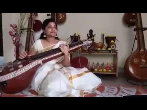 Harivarasanam instrumental Veena