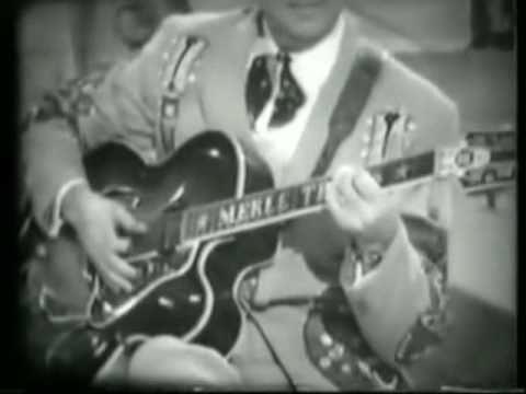 Merle Travis - I Like My Chicken Fryin' Size