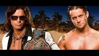 Cm Punk vs John Morrison ECW 1/9/2007 Highlights/Resumen