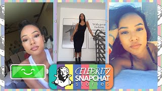 KARRUECHE TRAN October 2015 Snapchat Story PART 1