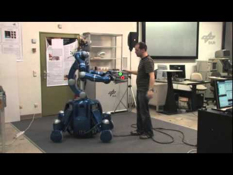 Whole-Body Control with the Rollin' Justin Robot (DLR)