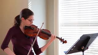 Louisa Bay: Mozart Concerto No. 5 in A Major K.219 Allegro Aperto