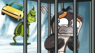 Minecraft Grinch - EVIL GRINCH LOCKS ME IN JAIL! (Grinch Movie)