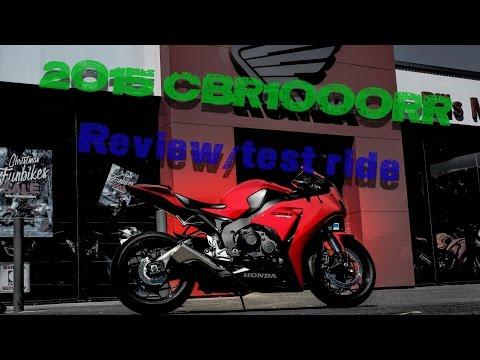 REVIEW: 2015 Honda CBR1000RR!! (fireblade)