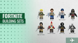 Fortnite Building Sets [2018 Best Sellers]: KOPF FORTNITE Heroes Collection Set 8PCS Mini Dolls