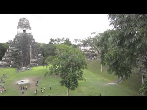 グアテマラのマヤ遺跡ティカル Tikal Heritage in Guatemala