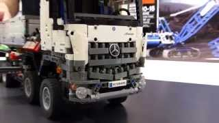LEGO®  Technic Highlights 2015: Fire Plan, Le Mans Race Car, Crawler Cran & Mercedes-Benz Arocs